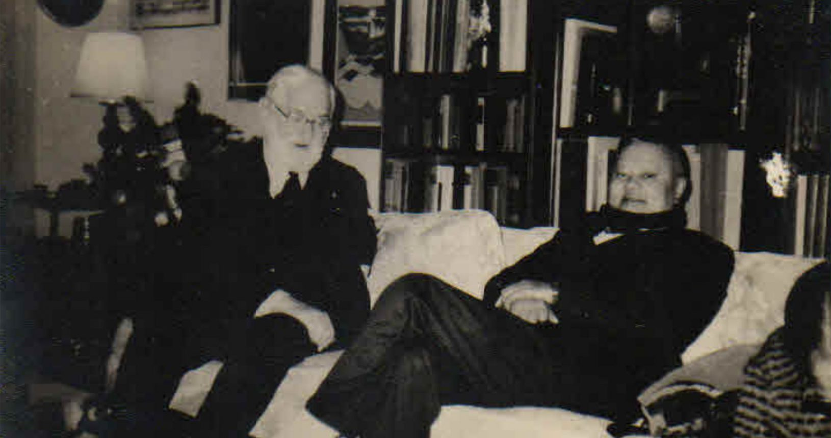 Mr. C. C. Bhagat with Prof. A. B. Sabin Pictured in Washington/USA on 29/12/82