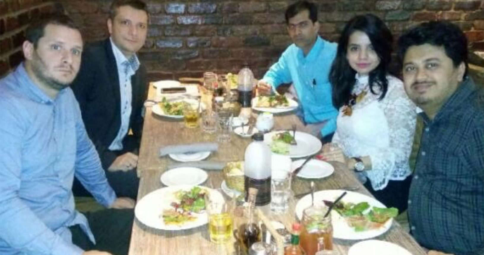 Mr. Pranav Bhagat & Ms. Prachi Bhagat with Mr. Milorad Dragojlović Commercial Director Innventa pharm Serbia