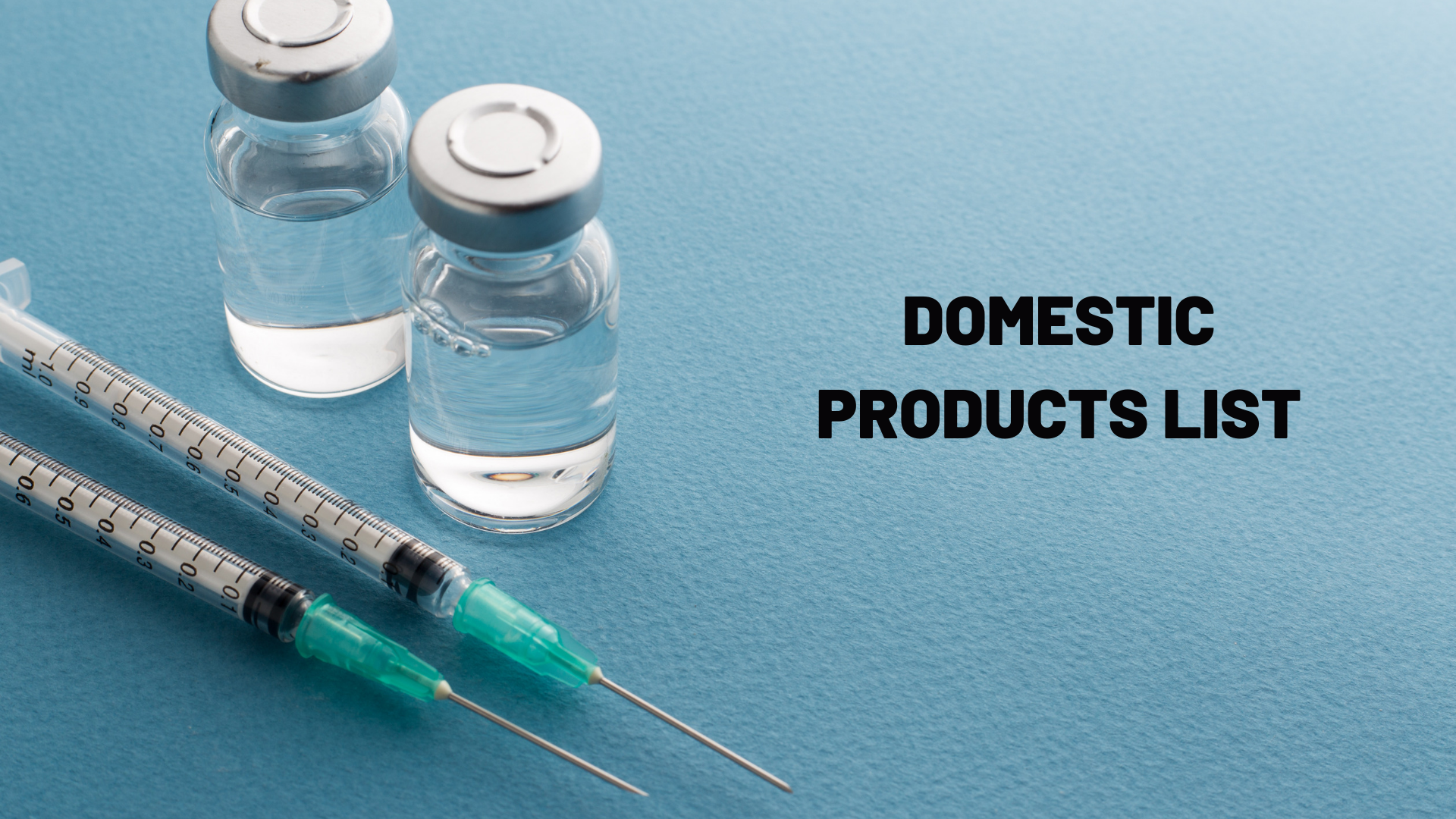 Domestic Products - CBC Pharma